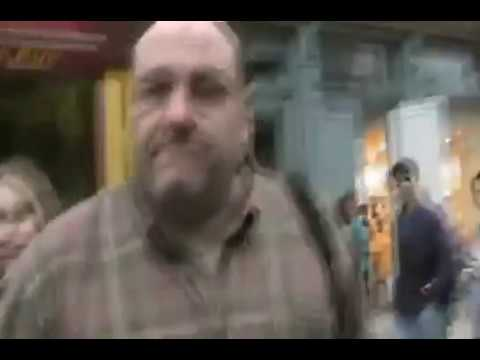 James Gandolfini is angry at guy with camera