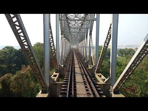 Railway bridge at kolaghat (RUPNARAYAN). Exclusive view& awesome experience.