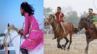 সকল স্থানে ঘোড়দৌড়ে নওগাঁর তাসমিনার প্রথম হবার রহশ্য দেখুন | Horse Riding  by Naogaon Tasmina