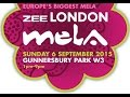Gunnersbury Park in Ealing Hosting The Zee London Mela 2015 on 6th September 2015 1 PM - 9 PM