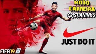 FIFA 19 - CARREIRA CR7 JR. #11 - ROBOZINHO FEZ HAT-TRICK E FOI PATROCINADO PELA NIKE IGUAL AO CR7 💪⚽