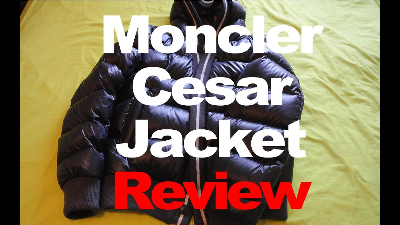 Mens Moncler Cesar Ski Puffa Jacket 100% Genuine PLUS TIPS on How to SPOT FAKES
