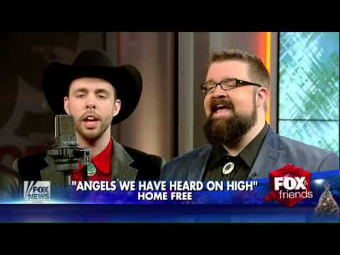 A capella group Home Free rings in the holiday season