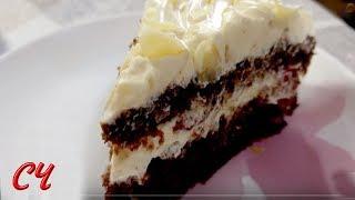 Торт Crazy Cake-очень Шоколадный. Совсем Простой в Приготовлении!/Cake Crazy Cake-very Chocolate