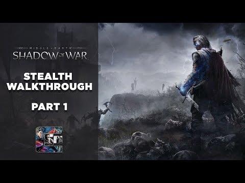 "Shadow of War - Stealth Gameplay Walkthrough - Part 1 PC/ULTRA - ""PROLOGUE"""