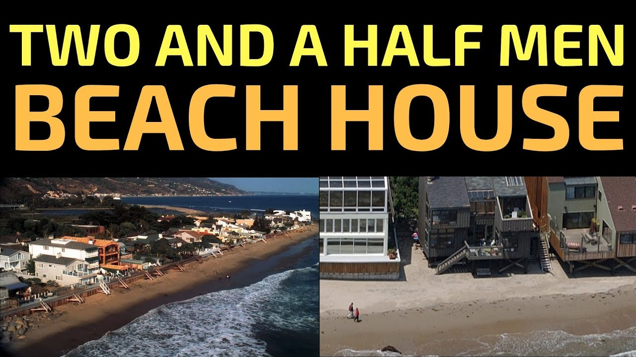 Two and a half men beach house location where is charlies home