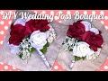 DIY WEDDING BOUQUET 👰🏽 💐