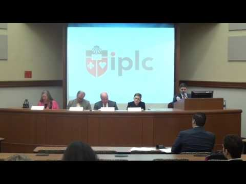 St. John's IPLC 2016 Symposium | Panel 1: Values