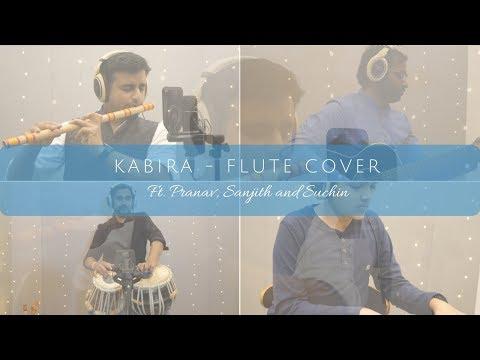 Kabira - Flute Cover by Sriharsha Ramkumar | ft. Pranav, Sanjith & Suchin | 4K