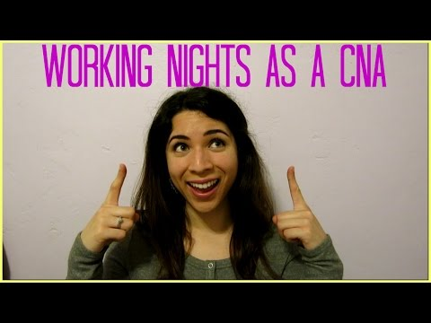 Working Nights as a CNA - Hospital