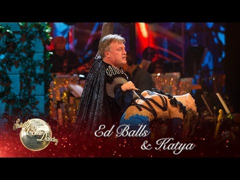 Ed Balls and Katya Jones Paso Doble to 'Holding Out For a Hero' - Strictly Come Dancing 2016: Week 4