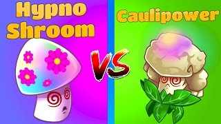 Plants vs Zombies 2 Hypno-Shroom vs Caulipower NEW!