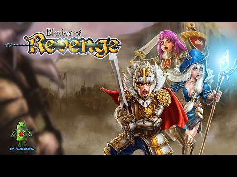 LINE Blades Of Revenge (Android/iOS) Gameplay Video - HD