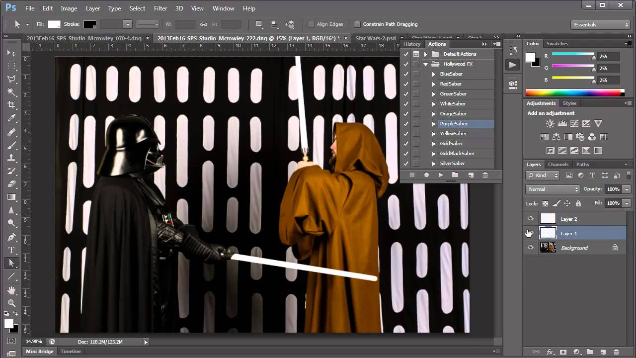 Photoshop lightsaber tutorial youtube photoshop lightsaber tutorial baditri Images