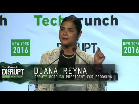 Diana Reyna, Deputy Borough President for Brooklyn at TechCrunch Disrupt NY 2016