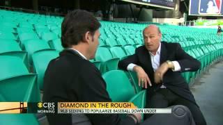 MLB seeking to popularize baseball in Australia