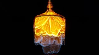 Nitromethane Jet Bottle - Looks Awesome in 4k Slow Motion - aka Whoosh Bottle