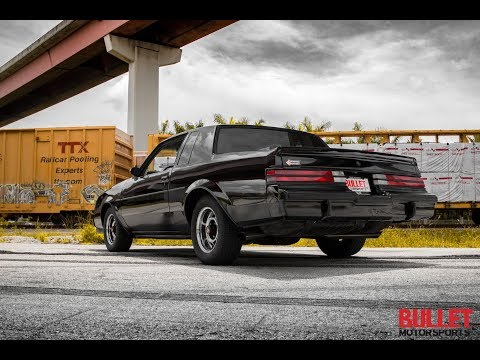 1987 Buick Grand National [4k] Pushing Boost!