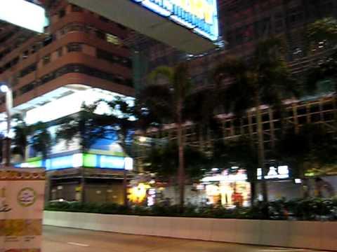 A Walk Through Nathan Road Kowloon, Hong Kong