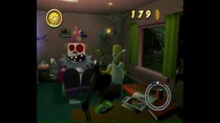 Simpsons Hit and Run Walkthrough: Level 7 - All Cards, Outfits, Wasp Cameras and Gags [1/2]