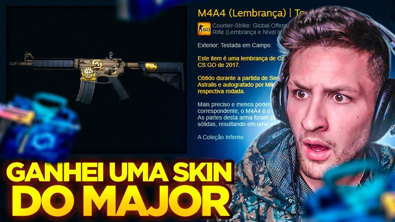 GANHEI UMA SKIN DO MAJOR NESSA CAIXA DE 0.34 CENTAVOS...