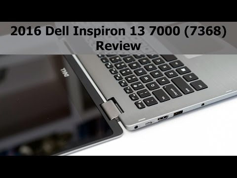 2016 Dell Inspiron 7000 (7368) Review