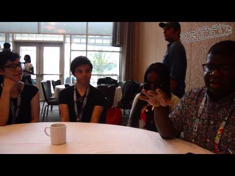 Steven Universe Interview - SDCC 2015 - Rebecca Sugar, Ian Jones Quartey, Zach Callison, and Estelle