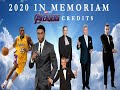 2020 In Memoriam Endgame Style (Main on End) Credits