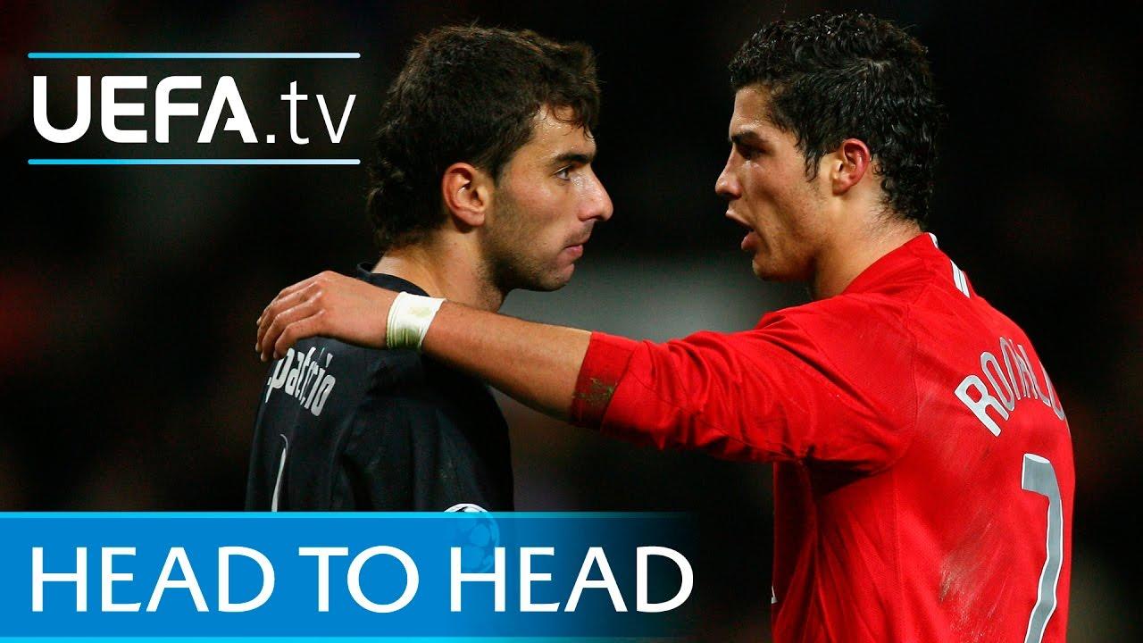 Cristiano Ronaldo v Rui Patricio Watch them in action