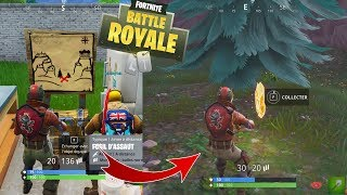 LA CARTE AU TRESOR DE SNOBBY SHORES !! Solution (Fortnite Battle Royale)