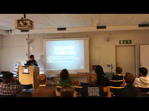 Maxigas: The Luddite Aspects of Hackerdom (FSCONS 2014)