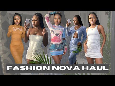 Fashion Nova Clothing Haul Giving Date Night Dress M