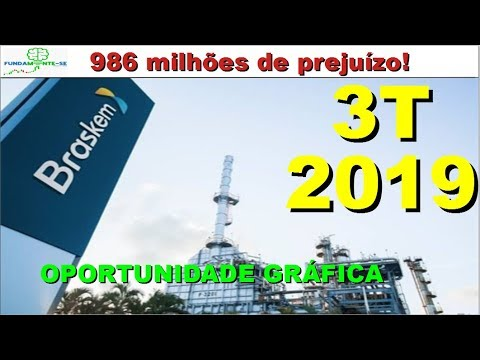 BRKM5 - BRASKEM, ANÁLISE DE DEMONSTRATIVO DO 3T DE 2019!