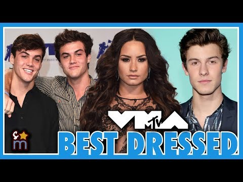 10 Best Dressed Celebs at the 2017 MTV Video Music Awards (VMAS) - Dolan Twins, Shawn, Demi, 5H thumbnail