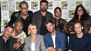 Thor: Ragnarok | Marvel Booth Signing & Interviews from SDCC 2017
