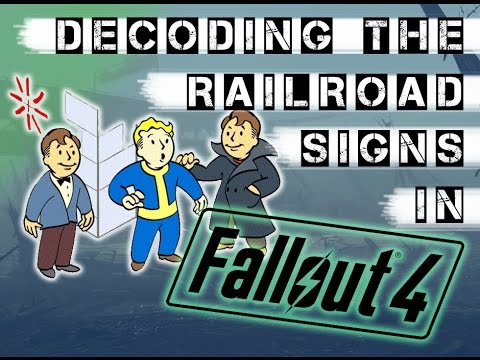 Learn The Railroad Signs In Fallout 4 + Freedom Trail Password