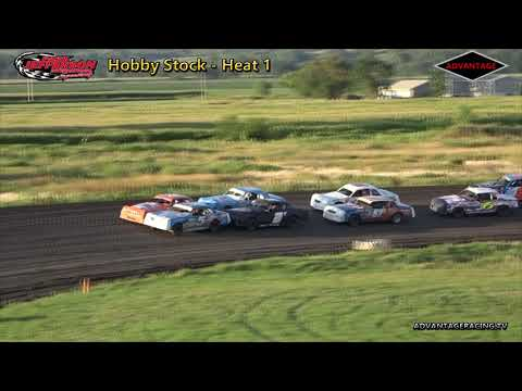 Sport Compact/Hobby Stock Heats - Park Jefferson Speedway - 7/14/18