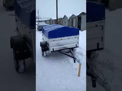 Видеоотзыв о прицепе ТИТАН из г. Оренбург