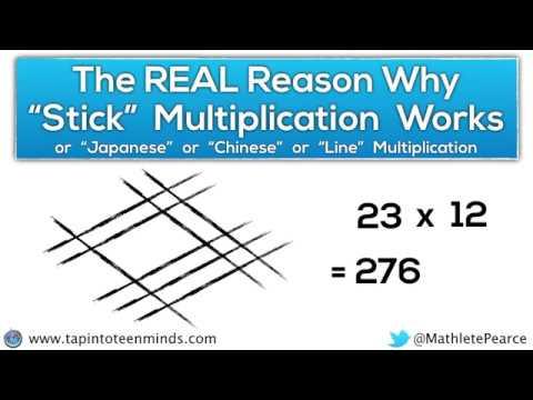math worksheet : the real reason why japanese multiplication  chinese  : Japanese Multiplication