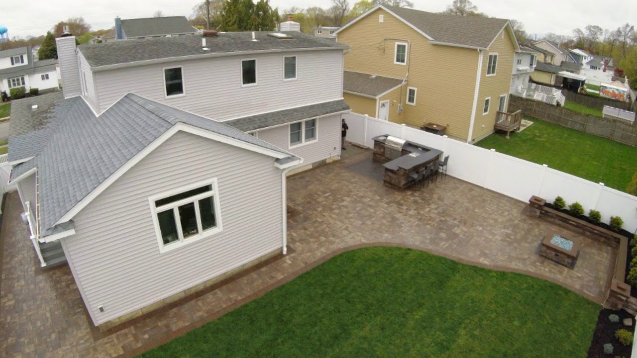 Outdoor Living Patio with Kitchen and Gas Firepit ... on Outdoor Living 4U id=36025