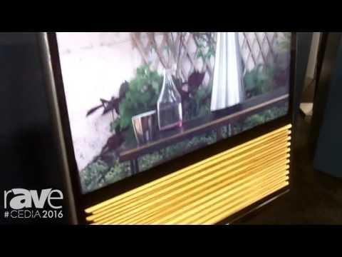 CEDIA 2016: Bang & Olufsen Adds BeoVision 14 TV