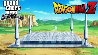 GTA SA : Dragon Ball Z Mod : All DBZ Locations !!!