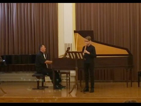 Vivaldi/Chedeville Sonata in g minor for recorder and b.c.