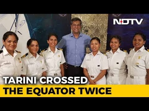 Meet The Navy's All-Women Crew Who Sailed Around The Globe I