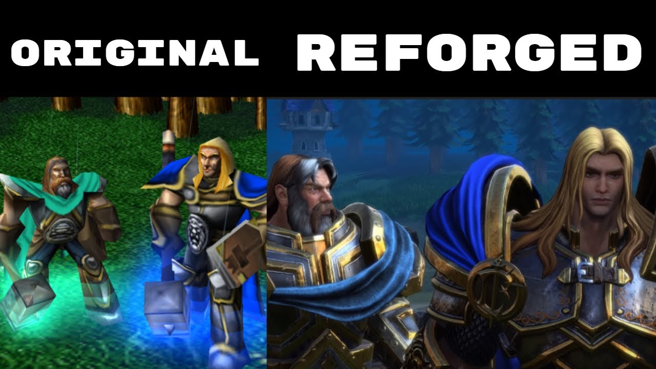 Warcraft 3 The Culling Campaign Comparison - Original and Reforged
