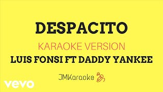 Download Video JMKaraoke - Despacito (Luis Fonsi ft. Daddy Yankee/Karaoke Version) MP3 3GP MP4