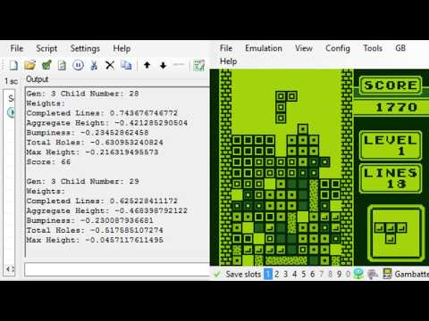 Tetris Genetic Algorithm