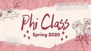 Lambda Delta Psi Spring 2020 Phi Class Video
