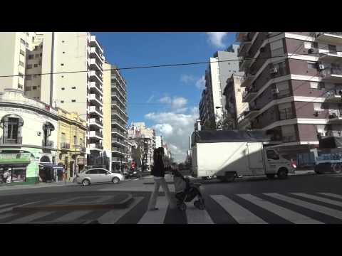 [Manejando/Driving en/in Buenos Aires] AU 9 de Julio - Montes de Oca