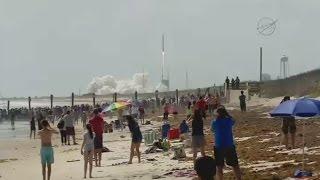 لحظة إطلاق صاروخ
